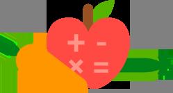 calculator veggies